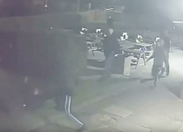 Detectives appeal for information following a machete attack outside the Old Crown Pub