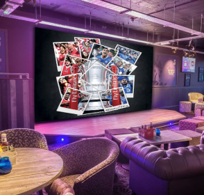 The FA Cup Final will be showing on the biggest screen in Birmingham.
