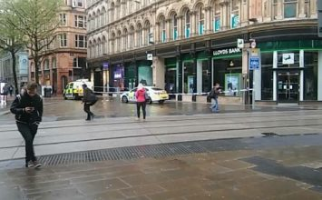 Homeless man found dead outside Lloyds Bank in the City Centre.