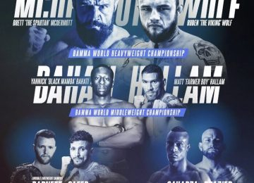 Shooters bar on Broad Street to host BAMMA live public weigh ins.