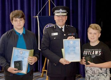 Teenage boys praised by police after helping officers to trace a missing girl in Dudley.
