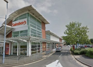 Sainsbury's in Black Heath closed following reports of a man in with a knife.