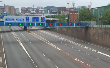 Aston Expressway to remain closed whilst bomb disposal experts make a WW2 German bomb safe.