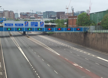 Aston Expressway to remain closed following the discovery of a WW2 German bomb.
