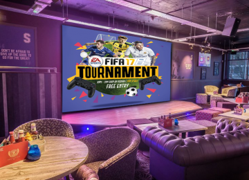 Fifa 17 Tournament at Shooters sports bar on Broad Street this weekend.