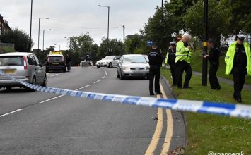 Man seriously injured following a collision with a car near the QE hospital.