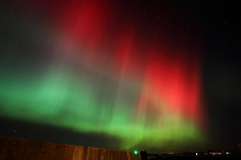 Aurora borealis aka northern lights could be visible for Chance of seeing northern lights tonight
