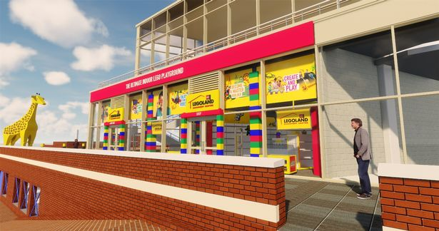 Take a look at the new LEGOLAND Discovery Centre ...