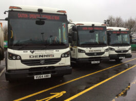 Birmingham City Council Refuse Lorry