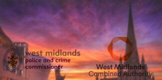 WM Police Crime Commissioner Logo and West Midlands Combined Authority Logo