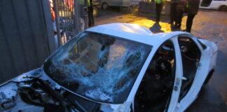 Audi shell found at Alum Rock Road chop shop