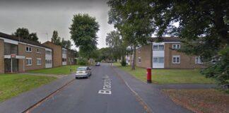 Streetview of Braceby Avenue in Billesley