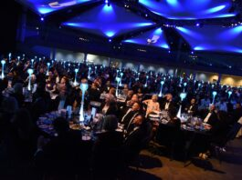 Picture of the Greater Birmingham Chambers of Commerce Dinner in 2018