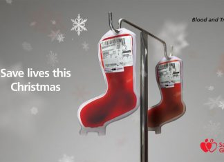 Donate blood this Christmas