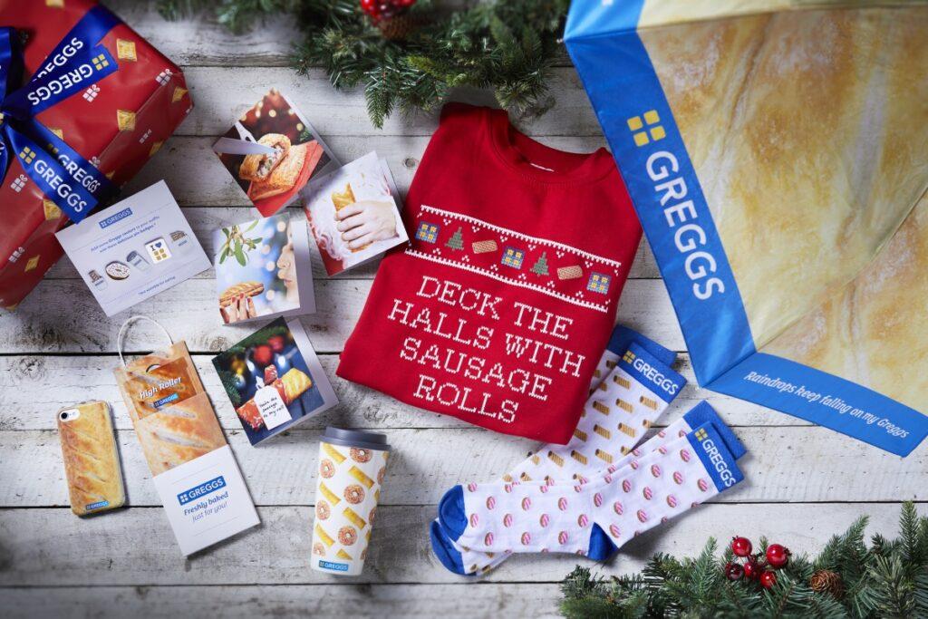 Greggs Christmas Gift Range