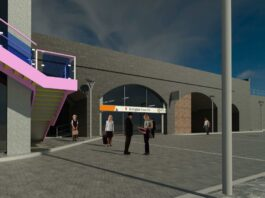 CGI of Snow Hill Eastern Entrance