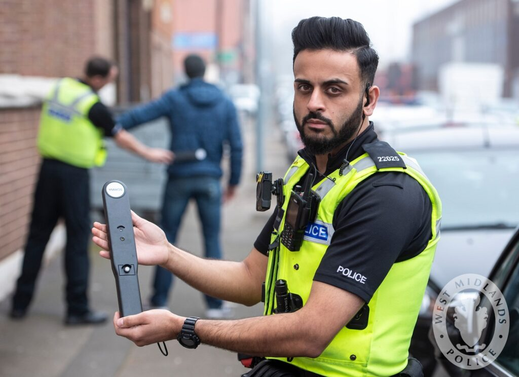 A batch of metal detecting wands have been awarded to response officers in Birmingham paid for by criminals