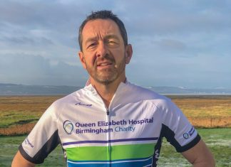 Chris Boardman, Queen Elizabeth Hospital Charity