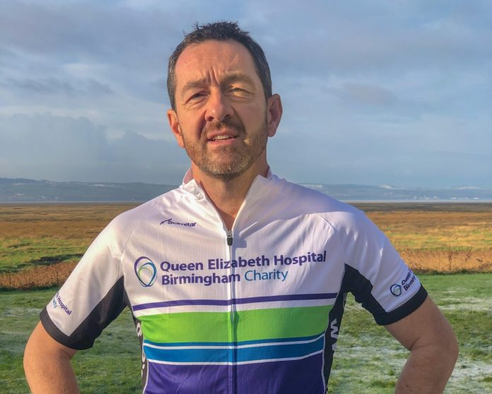 Chris Boardman, Queen Elizabeth Hospital Charity