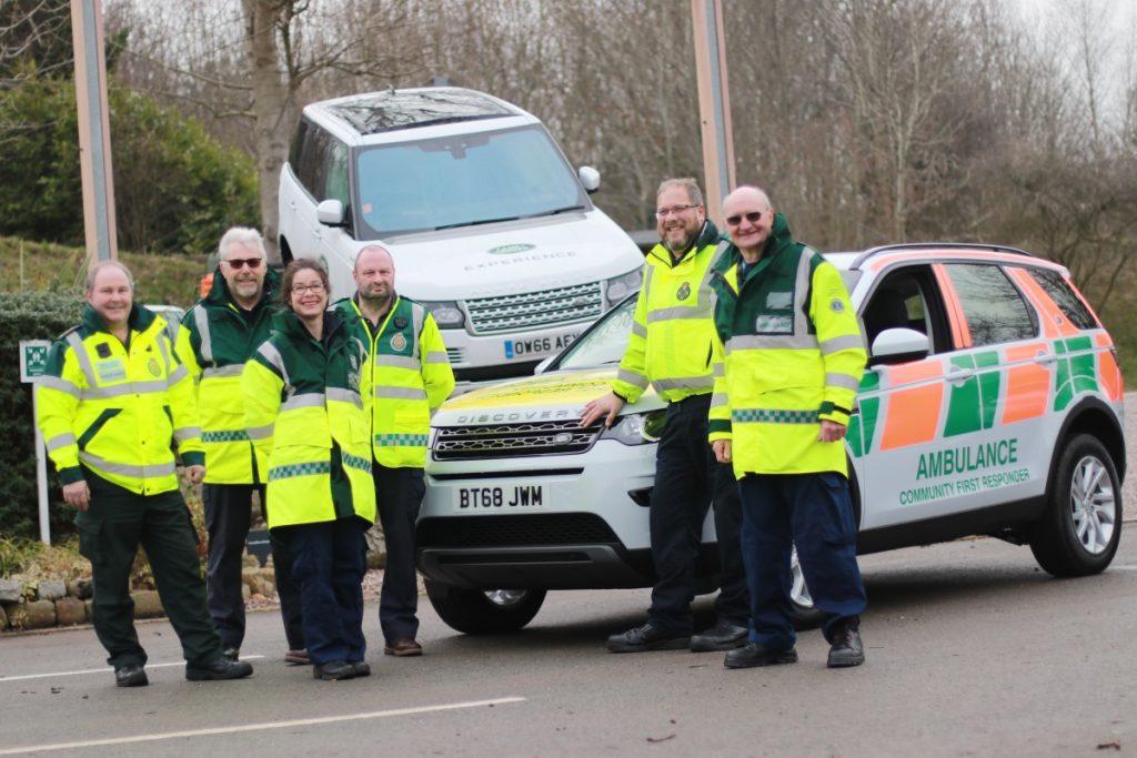 Jaguar Land Rover Employees Donate Life Saving Vehicle To