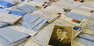 Letters Gilbert Bradley and Gordon Bowsher sent to each other