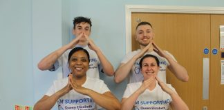 Local nurses at Queen Elizabeth Hospital Birmingham climb three peaks in aid of cancer patients