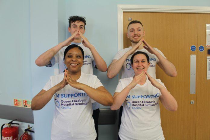 Local nurses at Queen Elizabeth Hospital Birmingham climb three peaks in aid of cancer patients
