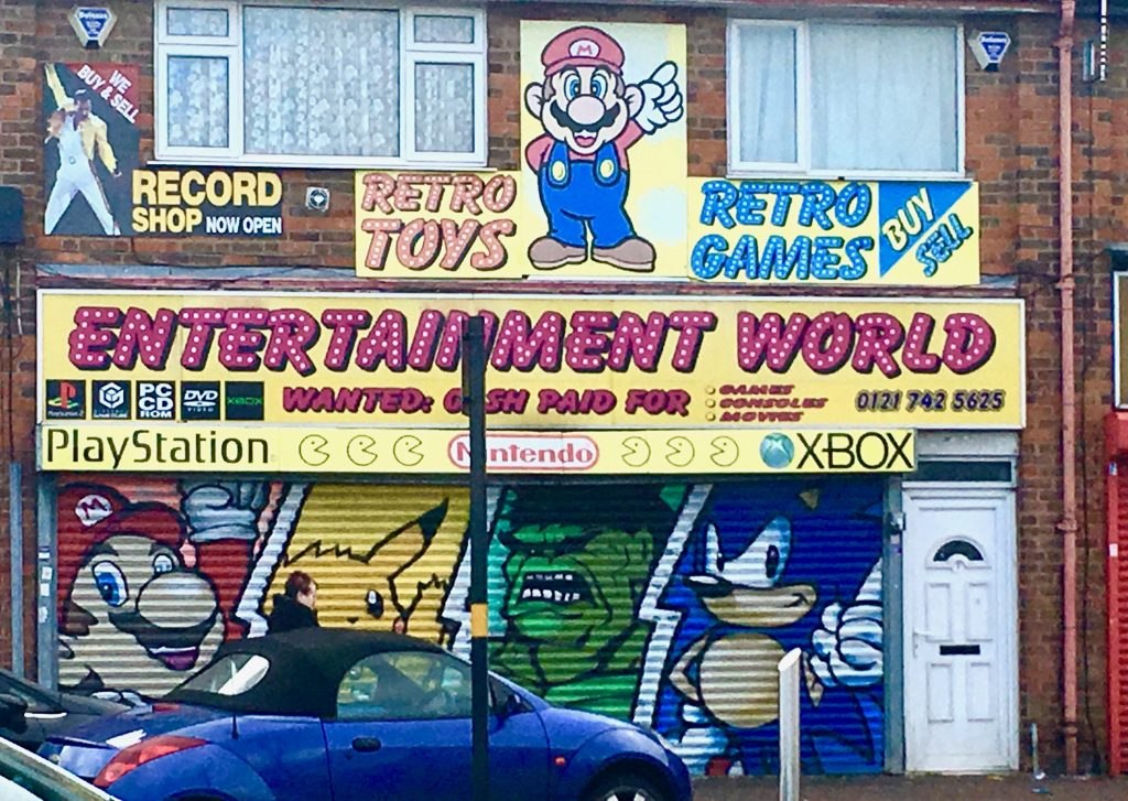 Donkey Kong anyone? Retro Gaming Shops to check out in