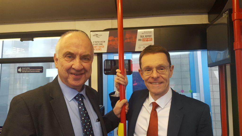 West Midlands PCC David Jamieson and Mayor of the West Midlands Andy Street